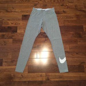 Nike women's size small gray athletic leggings.